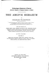 The Argive Heraeum: Volume 2