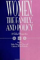 Women  the Family  and Policy PDF