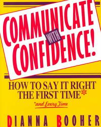 Communicate With Confidence  Book PDF