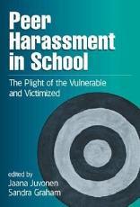 Peer Harassment in School PDF