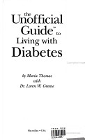 The Unofficial Guide to Living with Diabetes PDF