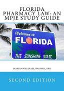 Florida Pharmacy Law PDF