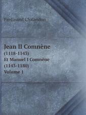 Jean II Comn?ne