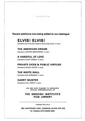 Films on Offer PDF