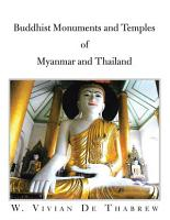 Buddhist Monuments And Temples Of Myanmar And Thailand PDF