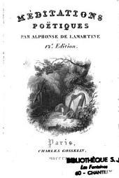 Méditations poétiques par Alphonse de Lamartine