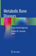 Metabolic Bone Diseases PDF
