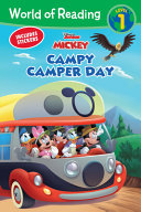 World of Reading  Mickey Mouse Mixed Up Adventures Campy Camper Day  Level 1 Reader