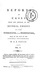 United States Reports: Cases Adjudged in the Supreme Court, Volume 2