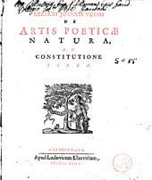 De artis poeticae natura, ac constitutione liber