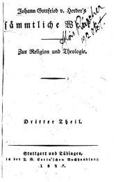 zur Religion und Theologie. 18 v