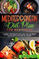 Mediterranean Diet Plan For Beginners