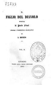 """Il figlio del diavolo romanzo di Paolo Feval: """"Il figlio del diavolo"""" 2, Volume 2"""