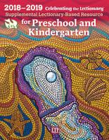 Celebrating the Lectionary   for Preschool and Kindergarten 2018 2019 PDF