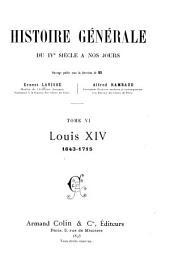 Louis XIV, 1643-1715