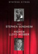 Sondheim and Lloyd Webber PDF