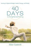 40 Days to Enlightened Eating PDF