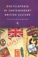 Encyclopedia of Contemporary British Culture PDF