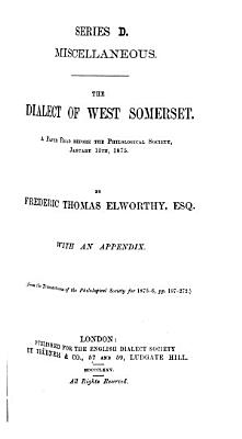 The Dialect of West Somerset