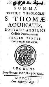 Summa Totius Theologiae: Volume 14