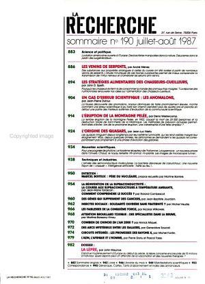 La Recherche PDF