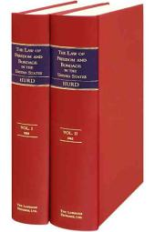 The Law of Freedom and Bondage in the United States: Volume 1