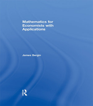 Mathematics for Economists with Applications PDF