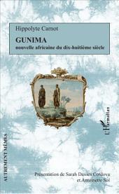 Gunima: Nouvelle africaine du dix-huitième siècle