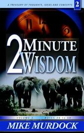 2 Minute Wisdom: Volume 2