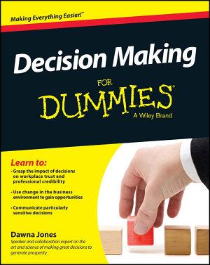 Decision Making For Dummies PDF