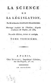 La Science De La Législation: Volume3