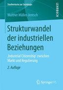 Strukturwandel der industriellen Beziehungen PDF