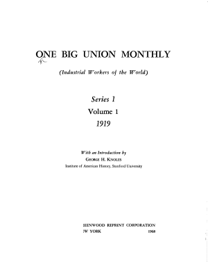 The One Big Union Monthly PDF