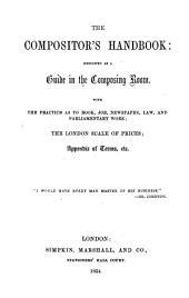 The compositor's handbook