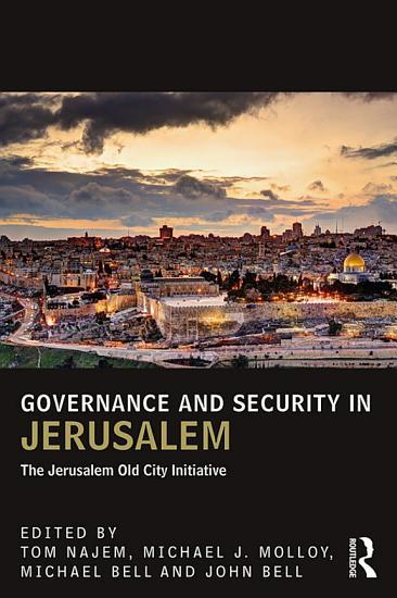 Governance and Security in Jerusalem PDF