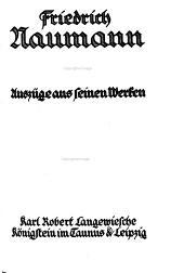 Das Blaue Buch von Vaterland und Freiheit: Auszüge aus seinen Werken