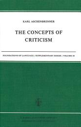 The Concepts of Criticism