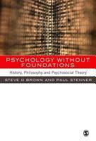 Psychology without Foundations PDF