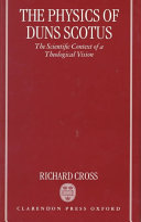 The Physics of Duns Scotus
