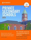 Private Secondary Schools 2020