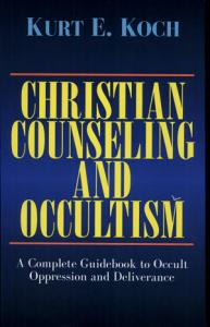 Christian Counseling and Occultism  Koch  Book