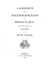 Jaarboekje voor rederijkers en beminnaars der poëzij: Volume 7