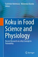 Koku in Food Science and Physiology PDF