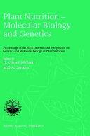 Plant Nutrition — Molecular Biology and Genetics