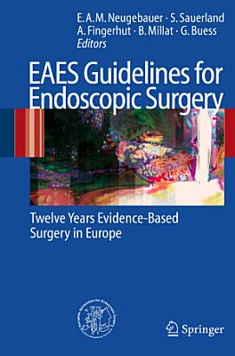 EAES Guidelines for Endoscopic Surgery PDF