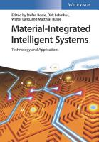 Material Integrated Intelligent Systems PDF