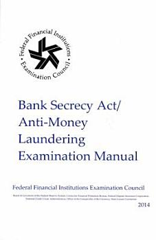Bank Secrecy Act Anti  Money Laundering Examination Manual PDF