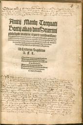 Opus quinque librorum de philosophica consolatione