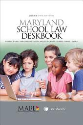 Maryland School Law Deskbook