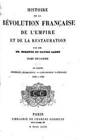 Histoire de la révolution française de l'empire et de la restauration